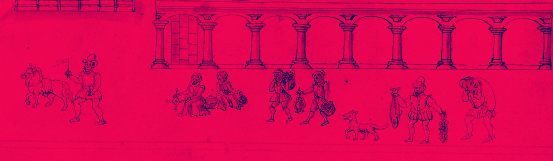 Detail of illustration depicting Eastcheape