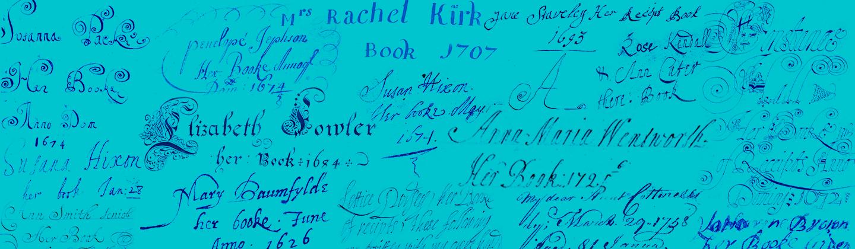 Image of many signatures