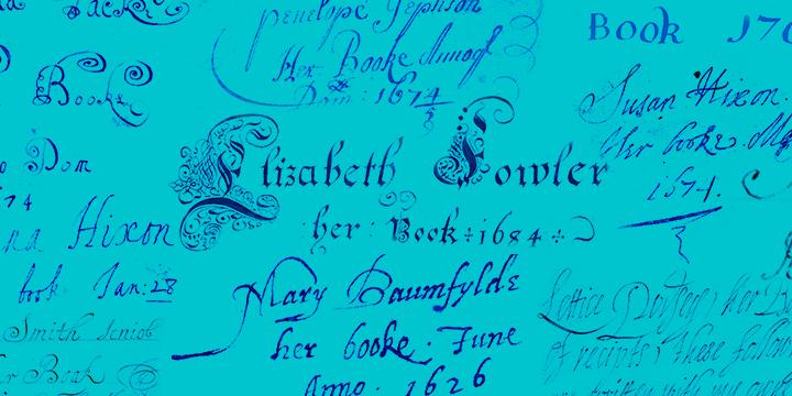 Various signatures